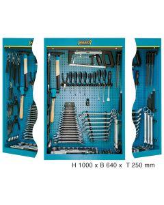 Hazet HAZ111/116 Werkzeugschrank mit Sortiment 111/116 - Anzahl Werkzeuge: 116