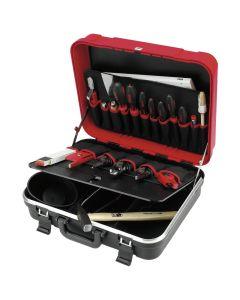 Cimco CIM172004 Hartschalen-Lehrlingskoffer, mit Werkzeug, 24-teilig