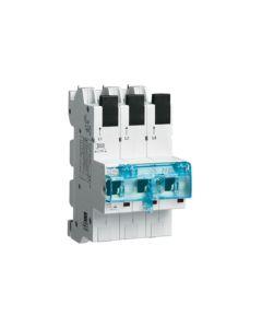 Hager HGRHTS335E SLS-Schalter für Sammelschiene QuickConnect, 35 A, 3-polig, Typ E