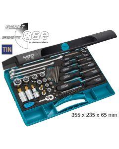 Hazet HAZ1557/58 Werkzeug-Satz TORX 1557/58 - Anzahl Werkzeuge: 58