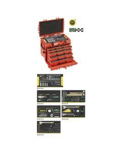 Stahlwille 98814905 13214a WT/LR Line Maintenance Set im Werkzeug-Trolley Nr. 13217 27 kg