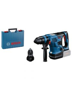 Bosch 0611914001 Akku-Bohrhammer BITURBO mit SDS plusGBH 18V-34 CF, Solo Version