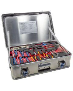 JD14881-1-SE Handwerkzeugkasten DIN 14881-FWKa, komplett in Firebox mit Schaumeinlage
