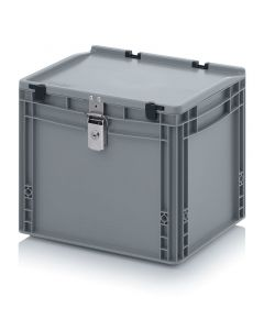 Auer ED 43/32 1S. Abschließbare Eurobehälter, 40x30x33,5 cm