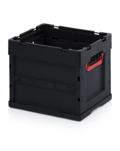 Auer ESD FB 43/32. ESD foldable boxes without lid, 40x30x32 cm