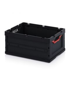 Auer ESD FB 64/27. ESD foldable boxes without lid, 60x40x27 cm