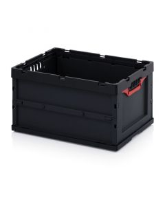Auer ESD FB 64/32. ESD foldable boxes without lid, 60x40x32 cm