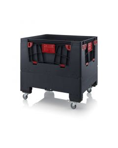 Auer ESD KLK 1210R. Foldable ESD big boxes with 4 opening flaps
