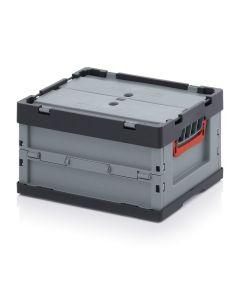 Auer FBD 43/22. Faltboxen mit Deckel, 40x30x22 cm
