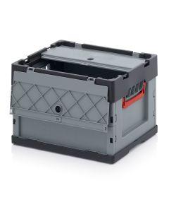 Auer FBD 43/27. Foldable boxes with lid, 40x30x27 cm