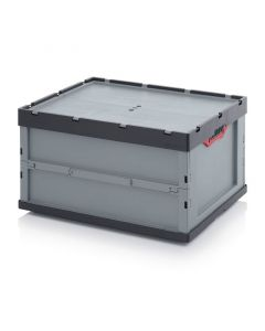Auer FBD 86/445. Faltboxen mit Deckel, 80x60x44,5 cm