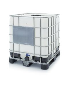 Auer IBC 1000 K 225.80-UN. IBC Container mit Kunststoffpalette