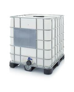 Auer IBC 1000 K 225.80. IBC Container mit Kunststoffpalette