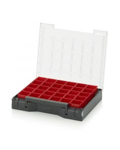 Auer SB 353 B1. Sortimentsbox bestückt 35 x 29,5 cm