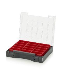 Auer SB 353 B2. Sortimentsbox bestückt 35 x 29,5 cm