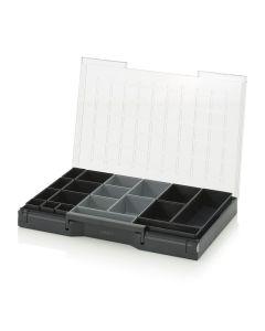 Auer SB 64 B6. Sortimentsbox bestückt 60 x 40 cm