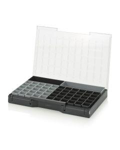 Auer SB 64 B9. Sortimentsbox bestückt 60 x 40 cm