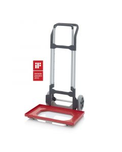 Auer SK V EG. Hand trolley Euro containers, with height adjustment