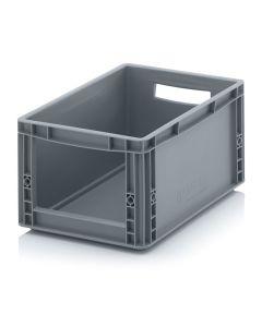 Auer SLK 43/22. Storage boxes with open front Euro format SLK, 40x30x22 cm