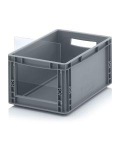 Auer SLK ES 43/22. Storage boxes with open front Euro format SLK ES, 40x30x22 cm