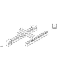 Bosch Rexroth 3842535663. Traglager LF20