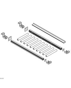 Bosch Rexroth 3842537592. Schienenhalter, Abschlussplatten