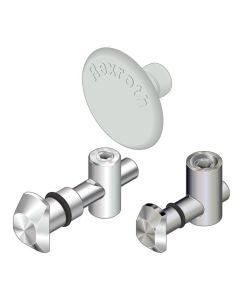 Bosch Rexroth 3842538563. Schnellspannverbinder Nut 8/10mm, 0°