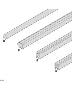 Bosch Rexroth 3842539613. Profilschienen für Seitenführungen