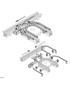Bosch Rexroth 3842551140. Kreuzweiche
