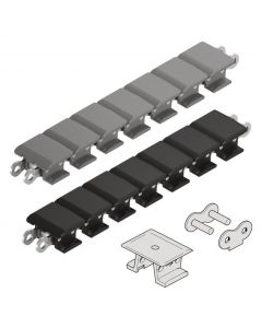 Bosch Rexroth 3842551226. Kunststoff-Flachplattenkette, Kettenschloss