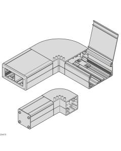 Bosch Rexroth 3842996356-1000. Kabelkanal, 40X40 AL. 1000 mm