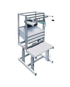 Bosch Rexroth 3842998350. Höheneinstellbarer Arbeitsplatz