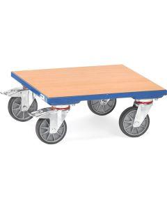 Fetra 1166. Kistenroller. 400 kg, mit Holz-Plattform