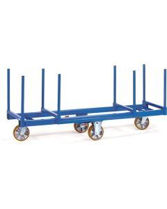 Fetra 2111. Langmaterial-Wagen. 1500 kg, mit Rungen 500 mm lang