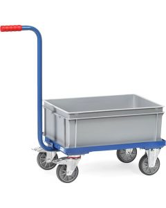 Fetra 2167. Griffroller. 250 kg, mit offenem Rahmen, 1 niedriger Kunststoffkasten