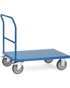 Fetra 2500B. Schiebebügelwagen mit Blechplattform. bis 600 kg, mit Schiebebügel