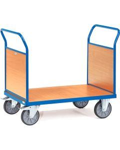 Fetra 2521. Doppel-Stirnwandwagen. bis 600 kg, mit Stirnwänden aus Holz