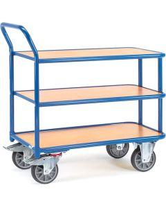 Fetra 2612. Tischwagen. 400 kg, 3 Böden