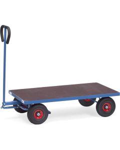 Fetra 4001. Handwagen. 500 kg, mit Plattform