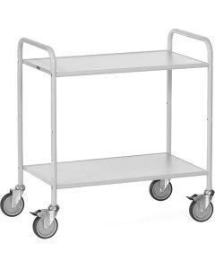 Fetra 4880. Bürowagen. 150 kg, mit 2 Böden und offenen Seitenwänden