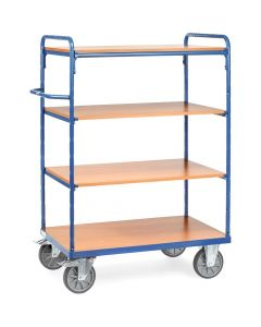 Fetra 8201. Etagenwagen mit Böden. bis 600 kg, mit 4 Böden aus Holz