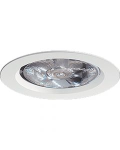 Glamox 121021224. Downlights Beleuchtung O69-R125 LED 800 HF 830 MB WH
