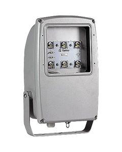 Glamox 514037897. Außenleuchten Mach 3 LED 6000 HF 740 ASY silber