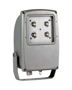 Glamox 514037947. Außenleuchten Mach 2 LED 4000 HF 740 MB silber