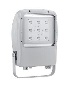 Glamox 514038018. Außenleuchten Mach 4 LED 9000 HF 740 NB silber
