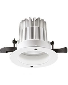 Glamox 536023. Downlights Beleuchtung O67-R135 LED 1300 HF 840 WB WH