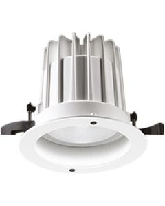 Glamox 536039. Downlights Beleuchtung O67-R165 LED 2800 HF 840 WB WH