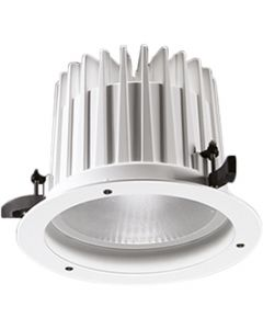 Glamox 536055. Downlights Beleuchtung O67-R225 LED 3800 HF 840 WB WH
