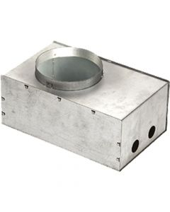 Glamox 601838-198. Downlights Beleuchtung O67-R165 CONCRETE BOX 198