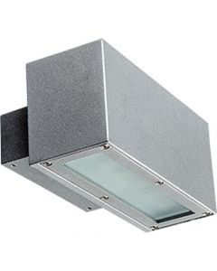 Glamox 6065664. Außenleuchten O84-W210 LED 350 HF 840 1WB silber